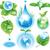 ecológico · ambiental · símbolos · ambiente · casa - foto stock © wikki