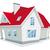 vector illustration of house stock photo © wikki