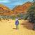 峡谷 · 砂の · 砂漠 · 雲 · 太陽 · 日没 - ストックフォト © wildnerdpix
