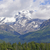 volcanic mountain peeking through the clouds stock photo © wildnerdpix