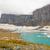 alpine glacier and lake on a cloudy day stock photo © wildnerdpix