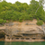 kleurrijk · zandsteen · klif · rotsen · Michigan - stockfoto © wildnerdpix
