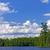лет · каноэ · стране · синий · юг · озеро - Сток-фото © wildnerdpix