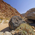 dramatic rocks along a desert trail stock photo © wildnerdpix