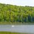 caiaque · lago · norte · reflexão - foto stock © wildnerdpix