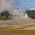 geyser erupting at sunset stock photo © wildnerdpix