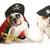 cão · piratas · dois · inglês · para · cima · pirata - foto stock © willeecole
