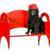 子犬 · 犬 · 赤 · かわいい · 座って · 見える - ストックフォト © willeecole