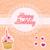 gelukkige · verjaardag · schilderij · illustratie · geschenken · cake · voedsel - stockfoto © wingedcats