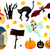 arrepiante · halloween · grave · bat · feliz · atravessar - foto stock © wingedcats