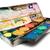 peinture · équipement · boîte · paire · isolé · blanche - photo stock © winterling