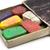 grungy box of wax crayons stock photo © winterling