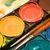 box of watercolors close view stock photo © winterling