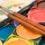 watercolors close view stock photo © winterling