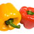 red and yellow pepper with clipping path stock photo © winterling