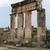romok · ősi · város · tenger · égbolt · épület - stock fotó © wjarek