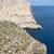uçurum · ada · gökyüzü · su · deniz - stok fotoğraf © wjarek