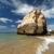 のどかな · ビーチ · 風景 · ポルトガル · 空 · 自然 - ストックフォト © wjarek