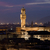 florence night view of palazzo vecchio from piazzale michelangelo stock photo © wjarek