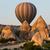 cappadocia turkeythe greatest tourist attraction of cappadocia the flight with the balloon at su stock photo © wjarek