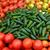 ピーマン · トマト · ニンニク · ショット · 白 · 食品 - ストックフォト © wolterk