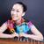 lány · kínai · fiatal · nők · mosoly · portré · energia - stock fotó © wxin
