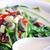 spinazie · soep · vers · witte · kom · salie - stockfoto © wxin
