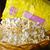 palomitas · aislado · negro · sal · maíz · comer - foto stock © wxin