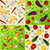set vector vegetables background stock photo © wywenka
