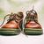ortopédico · zapato · primer · plano · par · médicos · cuero - foto stock © x-etra