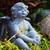 szobor · kicsi · angyal · fehér · gyermek · temető - stock fotó © x-etra