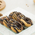 Duo Tone Donut Cookies with Chocolate Topping, Cinnamon and Milk stock photo © x3mwoman