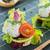 riso · verdura · top · view · ciotola · rosolare - foto d'archivio © x3mwoman