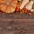 autunno · verdura · top · view · raccolto · tavolo · in · legno - foto d'archivio © xamtiw