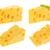 triangolo · pezzo · formaggio · isolato · bianco - foto d'archivio © xamtiw