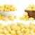maíz · blanco · aislado · fondo · desayuno - foto stock © xamtiw