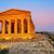 templo · sicília · antigo · grego · vale · luz - foto stock © Xantana