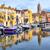 oude · binnenstad · haven · promenade · Frankrijk · kleurrijk · traditioneel - stockfoto © xantana