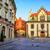 rua · velho · cracóvia · Polônia · cidade · velha · céu - foto stock © xantana