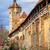 исторический · кладбище · средневековых · город · свет · крест - Сток-фото © xantana