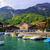pequeno · barco · porta · água · mar - foto stock © xantana