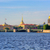 panorama of st petersburg russia stock photo © xantana
