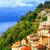 meer · Italië · hemel · water · gebouwen · boot - stockfoto © xantana