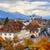 panoramic view of lucerne old town switzerland stock photo © xantana