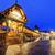 Lucerne, Switzerland, entrance to wooden Chapel Bridge stock photo © Xantana