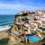 ünlü · plaj · Lizbon · Portekiz · bulutlar · Bina - stok fotoğraf © xantana