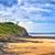 Desolated atlantic beach in Normandy by Granville, France stock photo © Xantana
