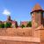 castelo · ordem · histórico · parede · tijolo · europa - foto stock © xantana