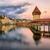 ahşap · küçük · kilise · köprü · su · kule · Bina - stok fotoğraf © xantana