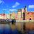 gdansk main town from the river poland stock photo © xantana